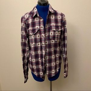 Flannel button down from Paige